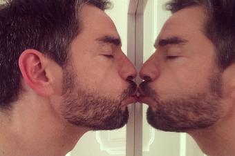 … O meu beijo! (Se não me beijar, quem beijará!?)