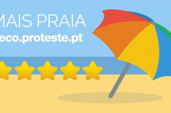 …Agora, até antes de ir à praia vou ao Mais Praia da DECO PROTESTE!