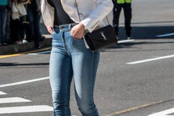 … As calças da da Georgina. (Ou as calças da discórdia?)