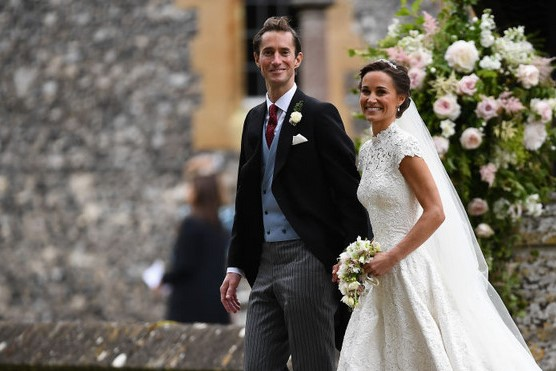 Foto do casamento de Pippa Middleton