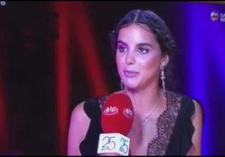 Sara Matos apresenta prémio nos Globos de Ouro