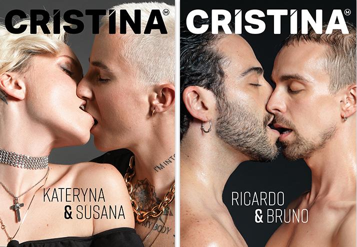 Capa da revista Cristina