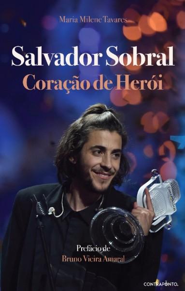 Capa do livro sobre Salvador Sobral