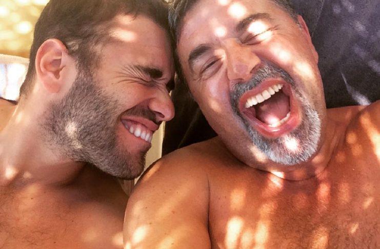 José Carlos Malato feliz com João Caçador