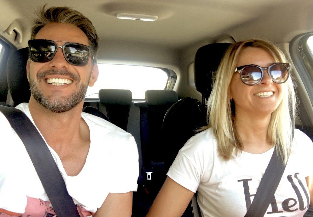 Claudio Ramos e irma