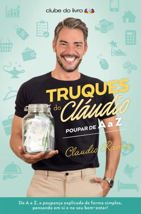 Capa do livro Truques do Claudio