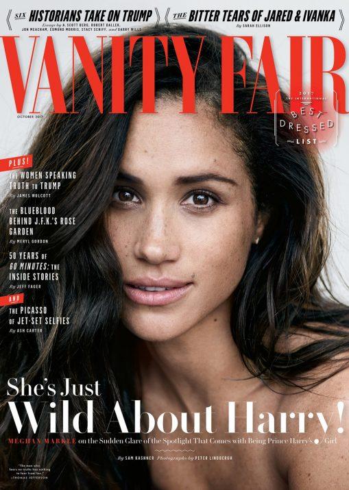 Meghan Markle na capa da Vanity Fauir