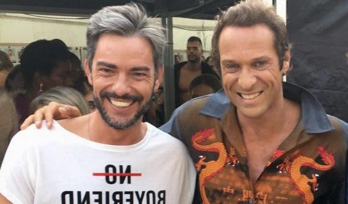 Claudio Ramos e Zeca Pereira