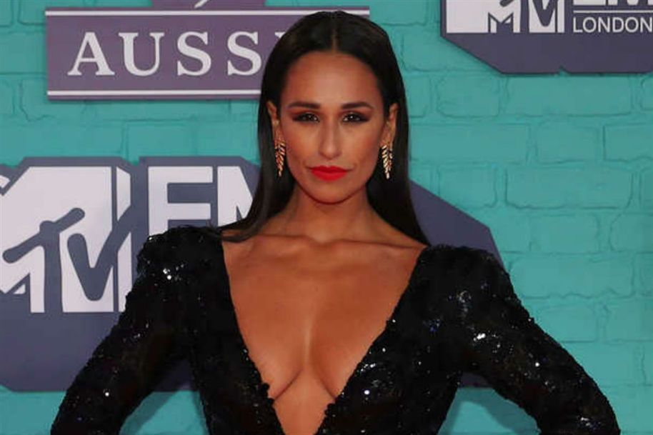 Rita Pereira na festa MTV em Londres