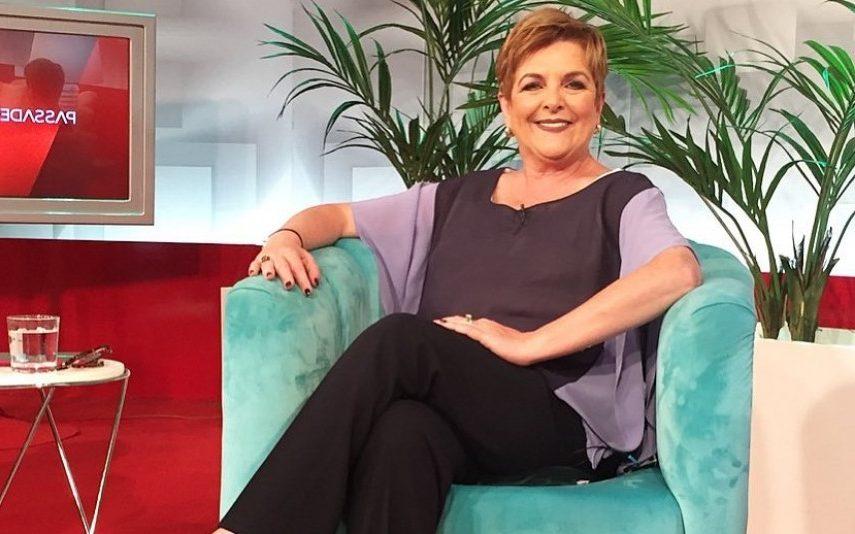Luisa Castel Branco no programa Passadeira Vermelha