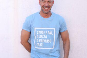 … As T-shirts que o Universo trouxe!